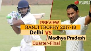 Ranji Trophy 2017-18, 2nd Quarter-final, Preview: Vijayawada readies for evenly-matched Delhi-MP tussle