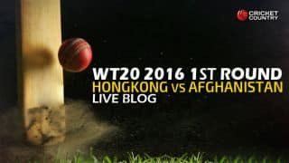 AFG 104/4 in 17 overs (Target: 117) | Live Cricket Score Afghanistan vs Hong Kong, ICC World T20 2016 , AFG vs HK, 6th Match at Nagpur