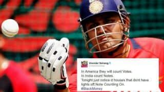 #BlackMoney: Virender Sehwag, Harbhajan Singh, other cricketers tweet