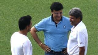 MS Dhoni checks Eden Gardens track ahead of 1st Test vs Sri Lanka