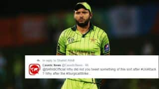 Twitterati lash out at Afridi over his 'peace' tweet