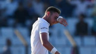 India vs England: Stuart Broad ruled out of of 3rd Test at Mohali