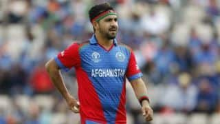 ICC CRICKET World Cup 2019: Afghanistan Replace injured Aftab Alam With Sayed Shirzad