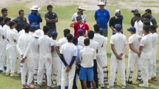 Sachin Tendulkar met NCA U-19 Players and gave useful tips