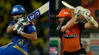 Sans David Warner, Sunrisers Hyderabad out to spoil Mumbai Indians party