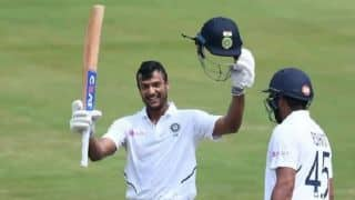 Mayank Agarwal smashes maiden double Test century