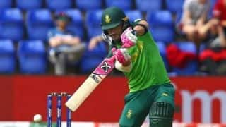 ICC World Cup 2019 warm-up: Du Plessis, Amla power South Africa to 338/7