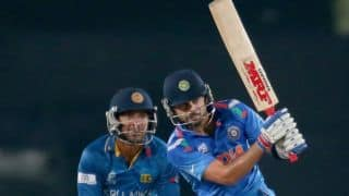 India muster only 130/4 in World T20 final