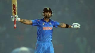 Virat Kohli's ton powers India to 330/6 against deflated West indies in 4th ODI