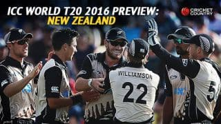 New Zealand team in ICC T20 World Cup 2016, Preview: Young unit look to leave a mark