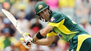 ICC Champions Trophy 2017: Maxwell ruled out of AUS's warm-up game against PAK