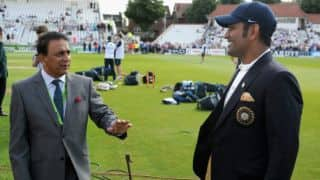Gavaskar: Dhoni shouldn't have retired from Tests