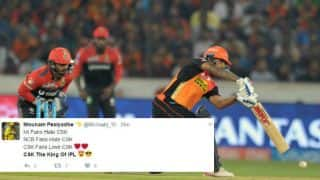 SRH-RCB in IPL 10? So what? Twitter goes mad over CSK!