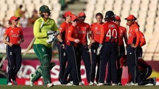 Women's World T20: Shrubsole hat-trick, miserly Sciver end South Africa's campaign
