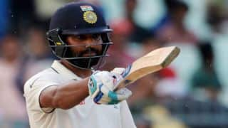 Rohit Sharma scores century on comeback; India declare on 610-6
