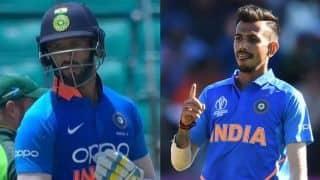 1st unofficial ODI: Chahal, Dube, Axar seal India A's crushing 69-run win