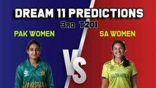Dream11 Prediction: Pakistan women vs South Africa women Best Players to Pick for Today's Match between SAW and PAKW at 4:30 PM