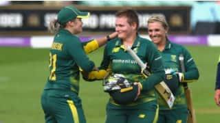 टी-20 (प्रैक्टिस मैच):  द. अफ्रीकी महिला टीम ने बोर्ड प्रेसीडेंट XI को हराया