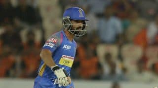 Royals' skipper Rahane calls for crowd support at Jaipur