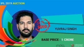 IPL Auction 2019: Yuvraj Singh goes unsold, West Indians Shimron Hetmyer, Carlos Brathwaite pocket hefty deals