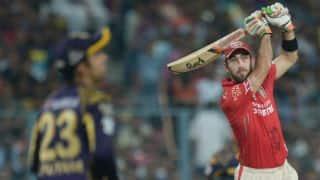 Glenn Maxwell to lead Kings XI Punjab in IPL 2017