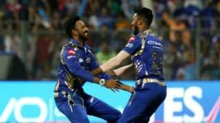 IPL 2017: Mumbai Indians win bring happiness between Krunal and Hardik Pandya; Hardik Praises elder brother Krunal