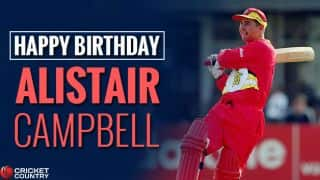 Alistair Campbell: 19 facts about the man who led Zimbabwe to its first Test series victory