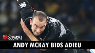 New Zealand pace bowler Andy McKay retires from all forms of cricket