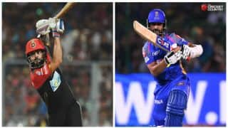 Highlights, IPL 2018, RCB vs RR, Full Cricket Score and Updates, Match No. 11 at M.Chinnaswamy Stadium: RR win by 19 runs