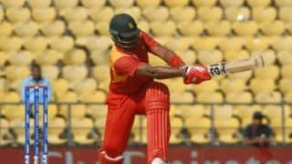 Hamilton Masakadza broke T20I record in last international match