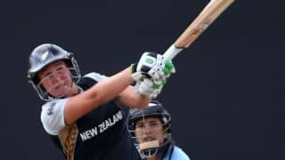 Rachel Priest guides New Zealand to a 6-wicket win over India Women to win series