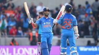 India vs England, 3rd ODI at Brisbane: England on top after first powerplay