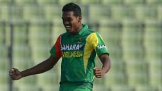 Al-Amin Hossain reported for suspect action; has to undergo tests within 21 days
