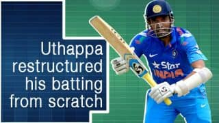 Robin Uthappa: Along with Amre-Sir, I stripped apart my entire batting style and restructured it from zero