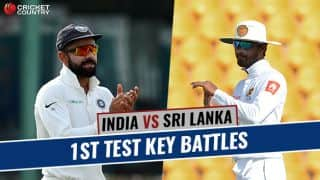 India vs Sri Lanka, 1st Test at Kolkata: Virat Kohli vs Dinesh Chandimal and other key battles