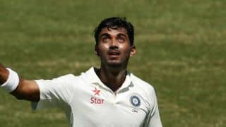 Rahul takes stunning catch to dismiss Thirimanne during 3rd India-SL Test at SSC