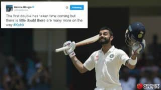 Virat Kohli's 200 vs West Indies: Twitter reaction