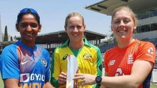 With WT20 in mind, Indian women Team face England tomorrow in tri-series