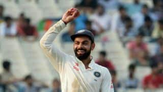 Virat Kohli captain of Glenn McGrath's Test team of 2016