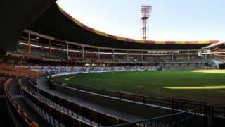Haryana bowled out for 247 despite Nitin Saini's ton