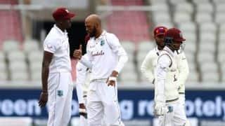 ENG vs WI, 2nd Test: बारिश के बीच टॉस जीतने का फायदा नहीं उठा पाई विंडीज, लंच तक इंग्लैंड 29/1