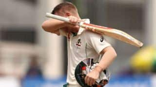 David Warner leaves field mid-innings after sledge in Sydney Grade cricket match