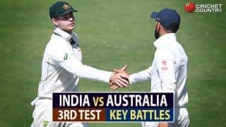India vs Australia, 3rd Test at Ranchi: Virat Kohli vs Steven Smith, David Warner vs Ravichandran Ashwin and other key battles