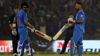 IND vs NZ, 3rd ODI: Dhoni, Kohli all praise for each other