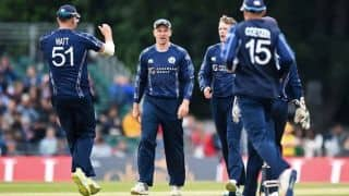 Scotland to host Afghanistan for two ODIs in May