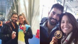 Dinesh Karthik's emotional message to wife Dipika Pallikal ahead of Commonwealth Games 2018