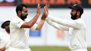 India Men vs Sri Lanka Men, 1st Test, Day 4, lunch: Hosts need another 465 runs with 8 wickets in hand