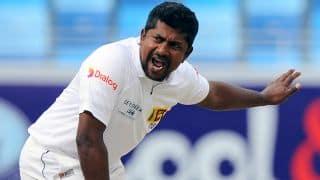 India vs Sri Lanka 2017: Rangana Herath complains of back pain; Jeffrey Vandersay called in as cover