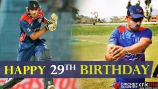 Paras Khadka celebrates 29th birthday