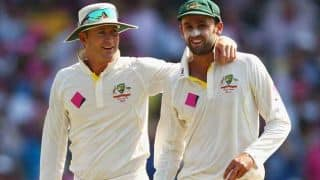 Australian cricketers were shocked when Michael Clarke announced his retirement, says Nathan Lyon